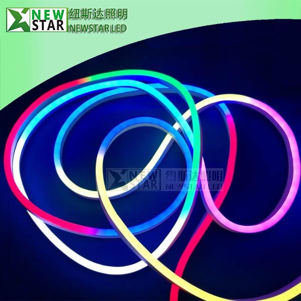 DC5V WS2812B Pixel dream color led neon pixel dmx RGB SK6812 Neon