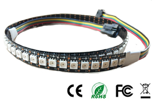 NS107S RGB Pixel Digital LED Strip Lights