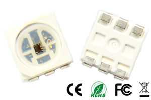 NS107S 16bit RGB Pixel LED Chip 5050
