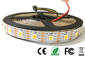 NS107S 3000K+6000K White WW digital LED Strips